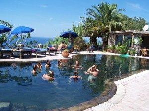 Gruppo lezione in acqua - www.scuoladirespiro.org