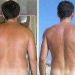 Perdere peso prima dopo uomo schiena - www.scuoladirespiro.org