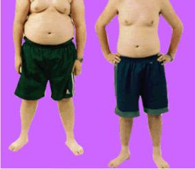 Perdere peso prima dopo uomo 2 - www.scuoladirespiro.org